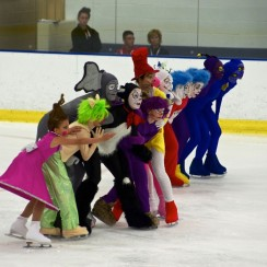 2012 National Theatre on Ice: Novice Team