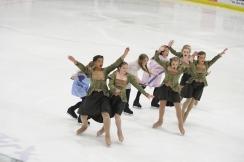 2015 Theatre on Ice: Novice Team